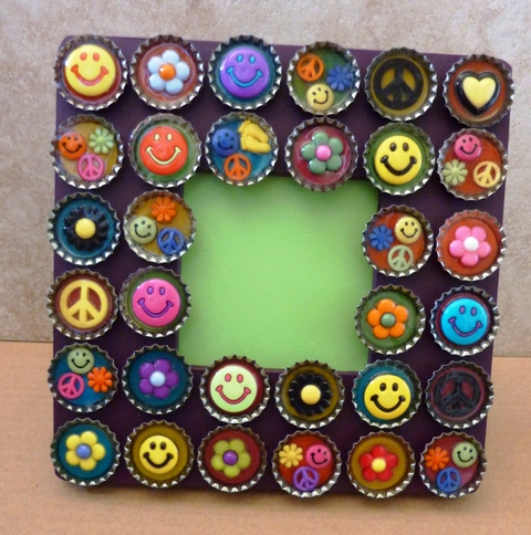 creative handmade photo framing art ~ crafts and arts ideas