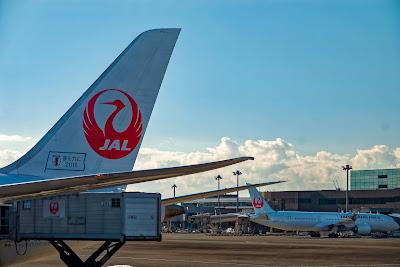 日本航空のジャンボジェット機