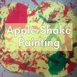Apple Shake Painting