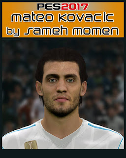PES 2017 Faces Mateo Kovacic by Sameh Momen