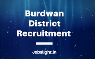 Burdwan District Recruitment