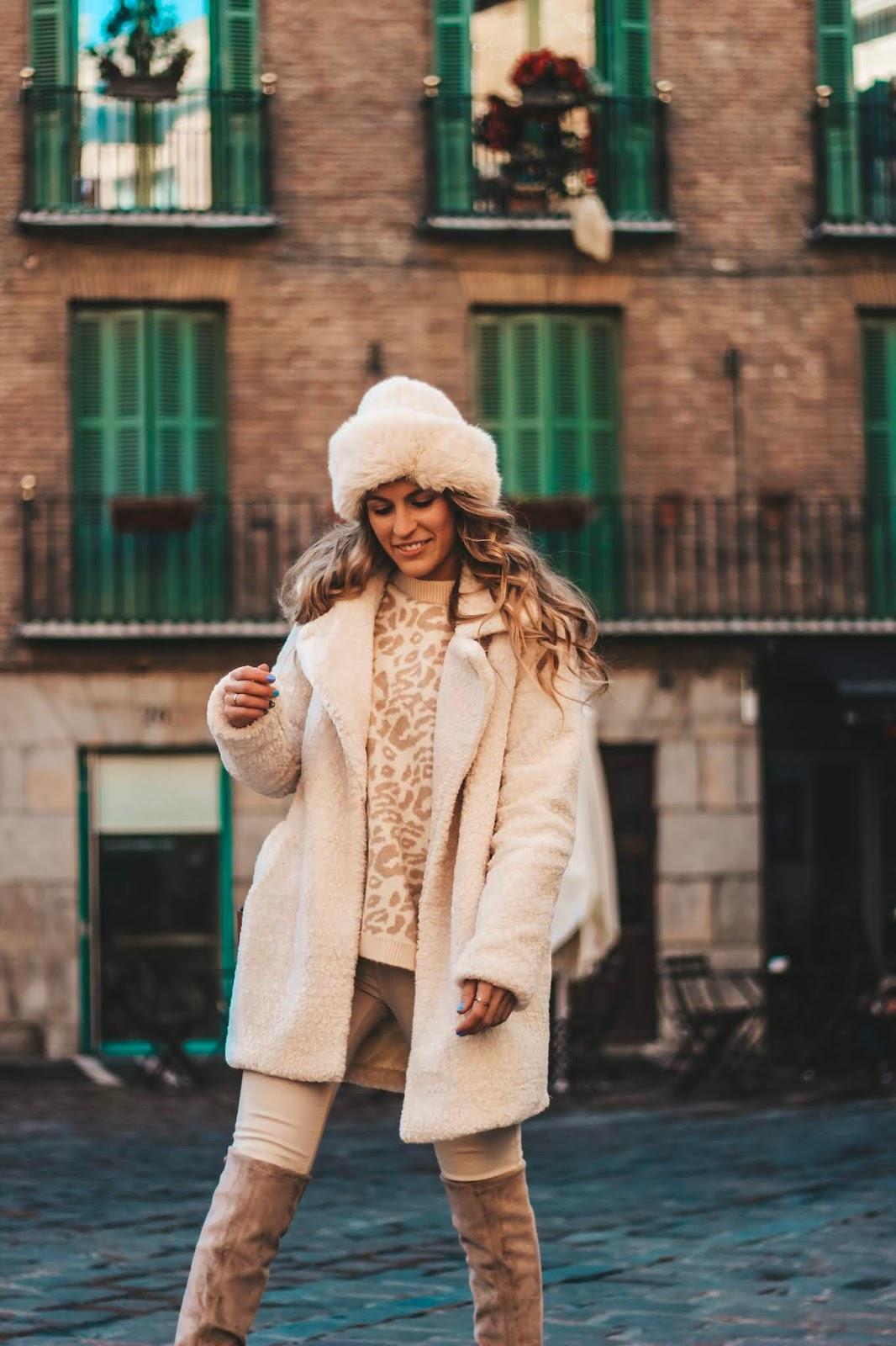 como conseguir total look en beige