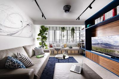 Desain Terbaru Interior Rumah Minimalis Dengan Tampilan Tanaman Terbaik 3