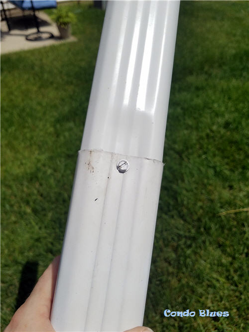 how to join two pieces of downspout together