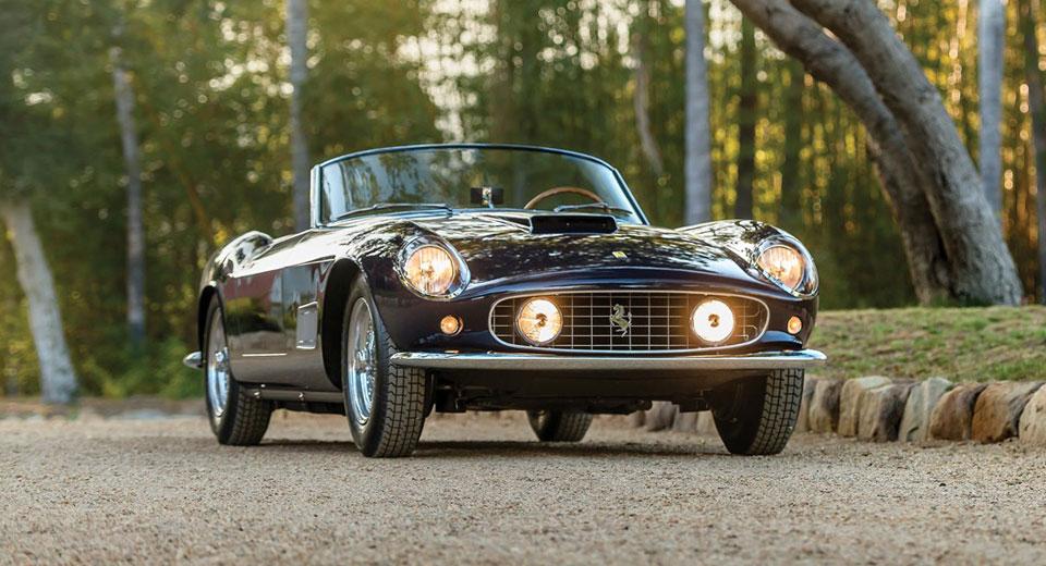 Drop-Dead Gorgeous Ferrari 250 GT LWB California Spider To Headline RM's Monterey Auction