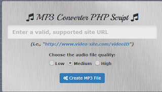 MP3 Converter PHP Script + Modul
