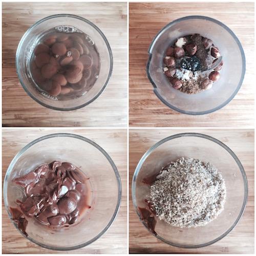 recette rapide de bonbons en chocolat