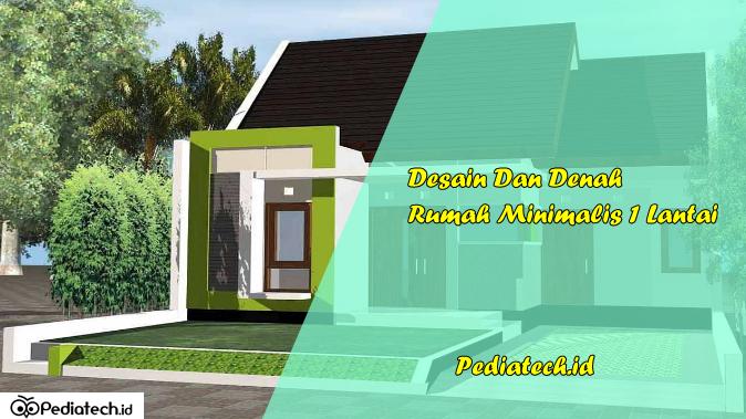 15 Desain Dan Denah Rumah Minimalis 1 Lantai Terbaru 2019 Pediatech