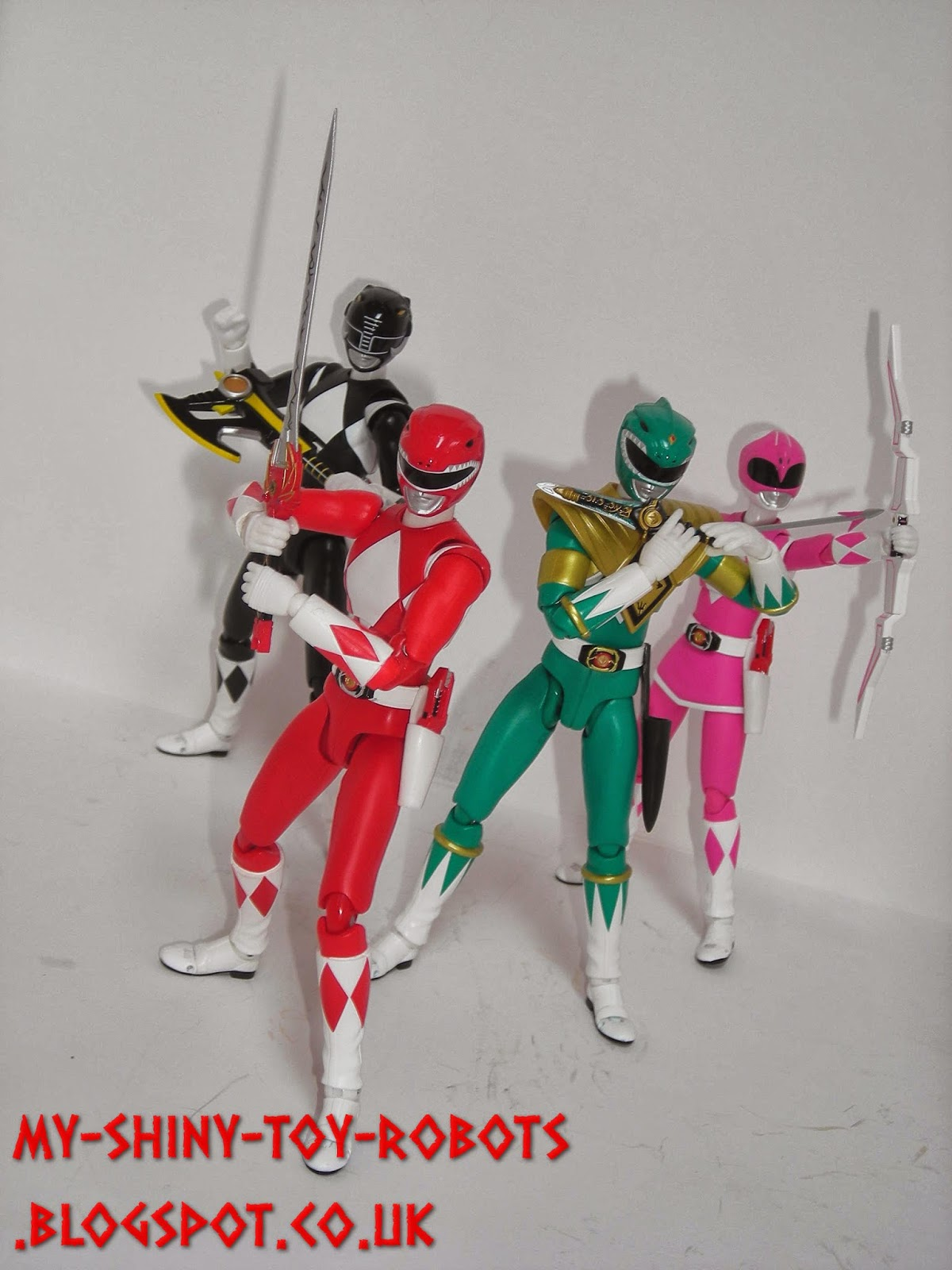The Zyurangers/Power Rangers so far
