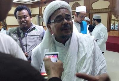 Habib Rizieq Sebut Preketek Saat Menanggapi Pernyataan Nusron dan Ruhut