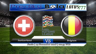 prediksi pertandingan Switzerland vs Belgium 19 November 2018