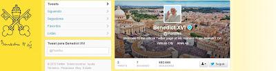 Nueva cuenta de Twitter del Papa Blog de Marketing Online y Creatividad