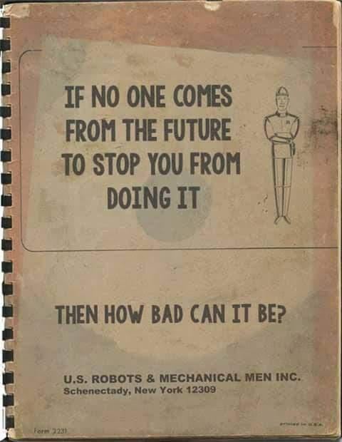 Meme de humor sobre Asimov