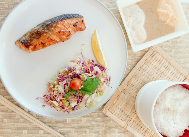 Resep ikan  salmon bakar