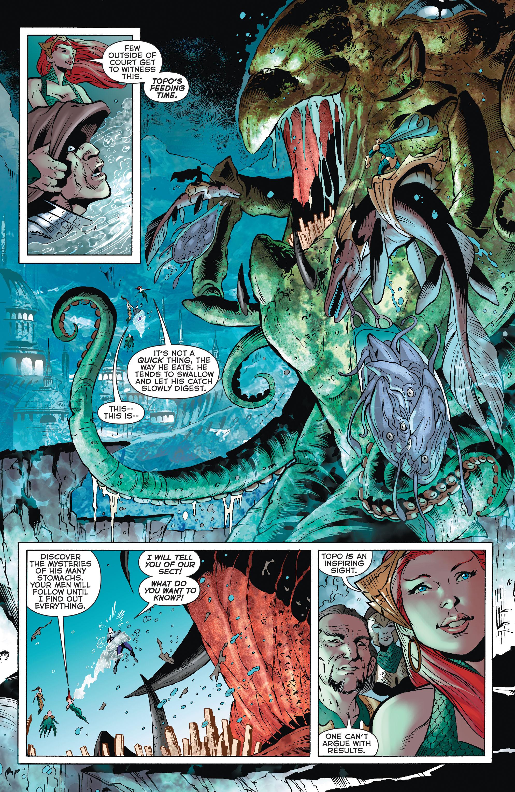 Read online Aquaman (2011) comic -  Issue #32 - 16