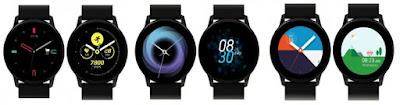 Samsung Galaxy Watch Active Usung Tampilan Antarmuka One UI