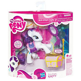 MLP Shine Bright Rarity Brushable Pony