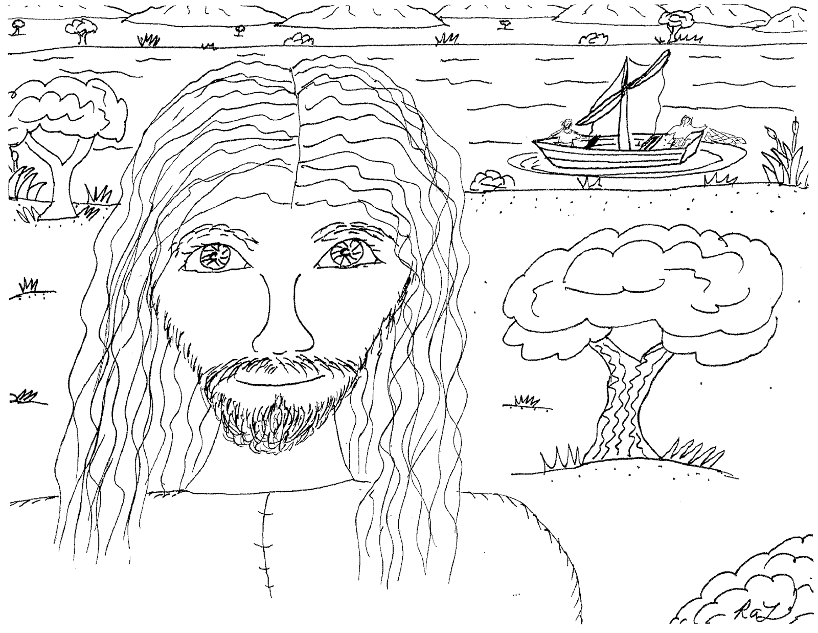 Robin S Great Coloring Pages Gospel Pictures New