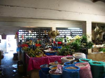 Photo du marché à Sainte-Marie Madagascar