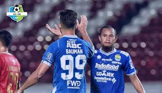 Ditahan Imbang Barito Putera 3-3, Persib Finis di Posisi 4 Klasemen Liga 1 2018