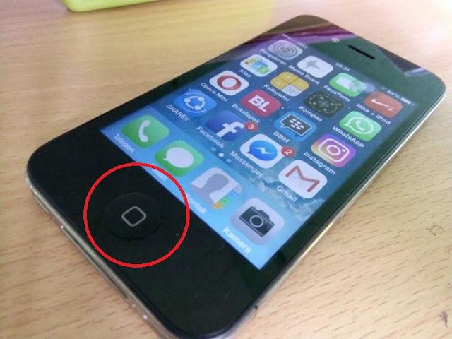 Cara Memperbaiki Tombol Home iPhone Rusak Yang benar Dan Terbukti Berhasil