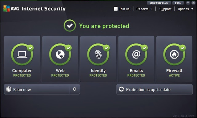 Download AVG Antivirus Internet Security  Download AVG Antivirus Internet Security 2015 Build 5961 Free Full Version