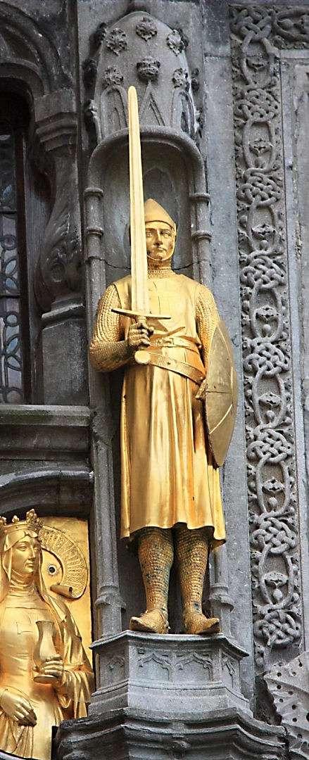 Igreja do Sangue de Cristo. Bruges, Bélgica.