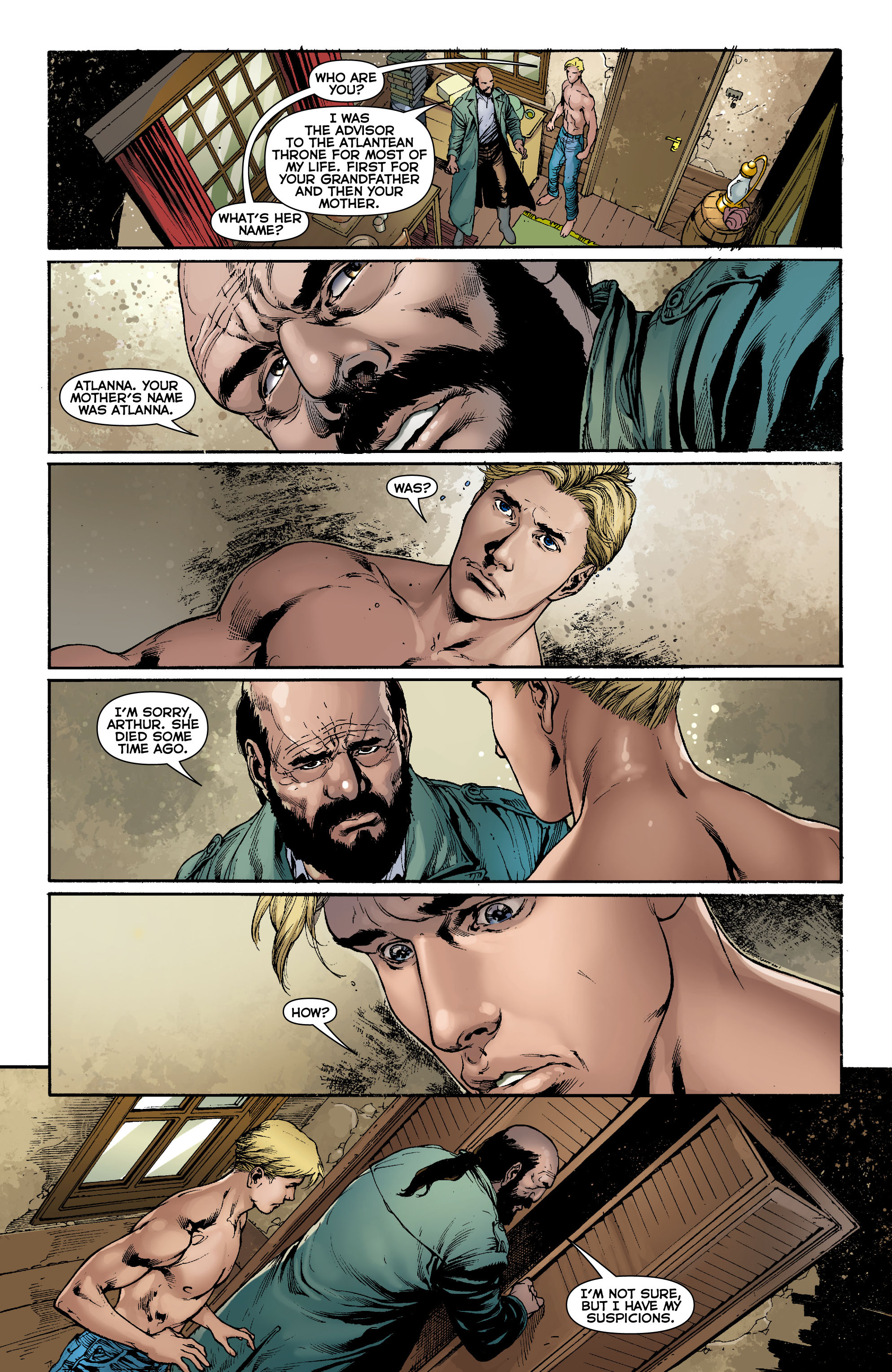 Read online Aquaman (2011) comic -  Issue #0 - 16