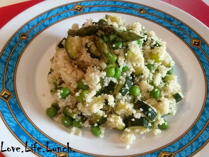 Couscous verde