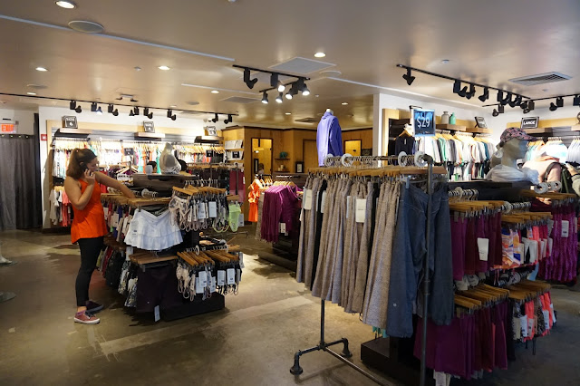 Lululemon yoga athletica Woodbury Common Premium Outlet in New York