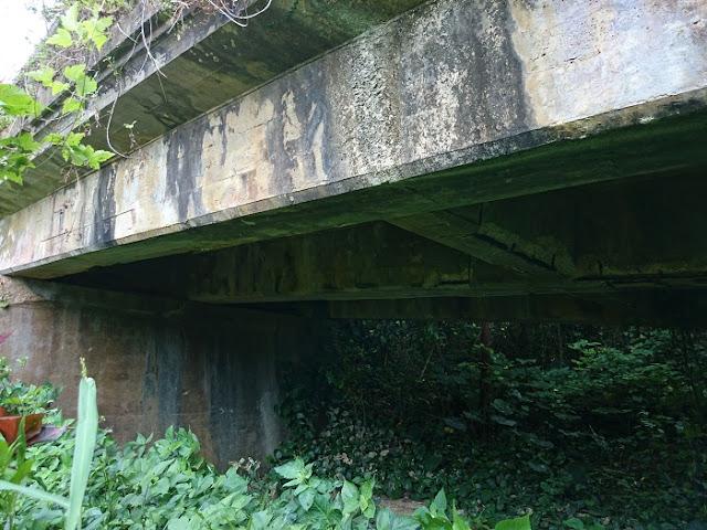 旧天願橋(ターチー橋)の写真