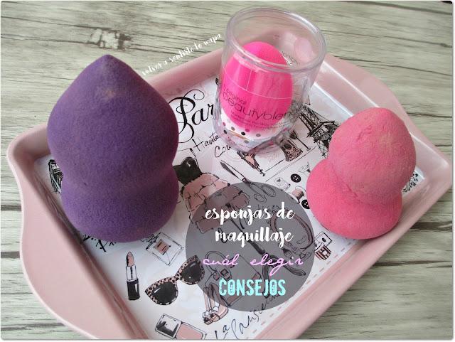 Esponjas para maquillaje: cual elegir y consejos