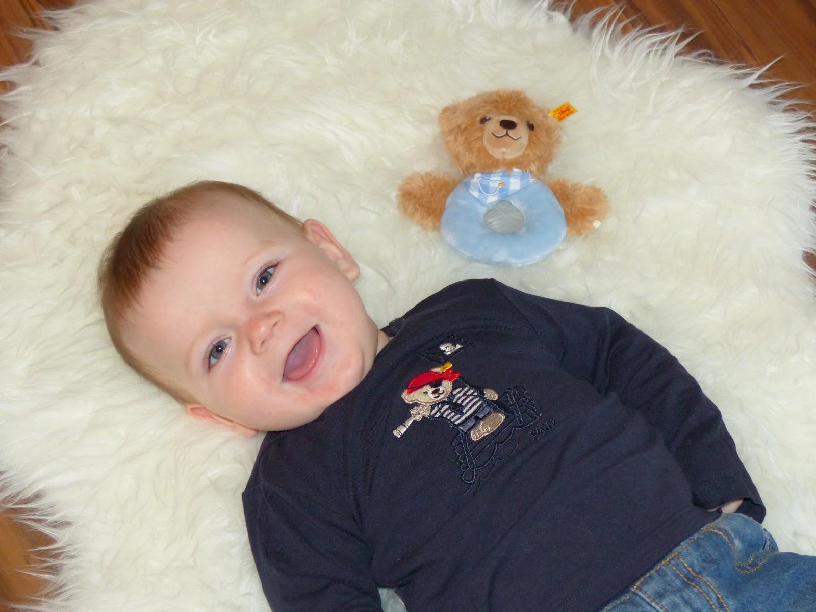 Leben mit Baby: Max ist 7 Monate alt | ERDBEERCHENS TESTWELT
