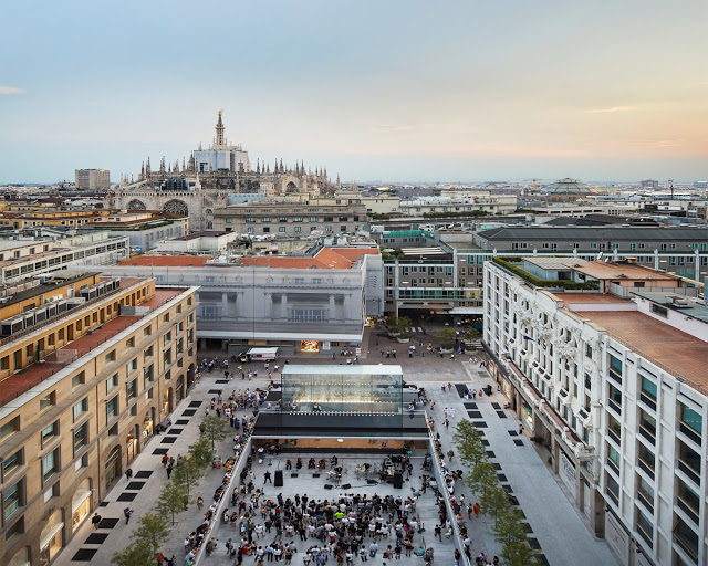 Gorgeous Looking Of Apple Piazza Liberty Retail Store Now Open In Milan, Italy