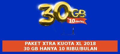 paket-xtra-kuota-2018-xl-30-gb-murah-satu-bulan