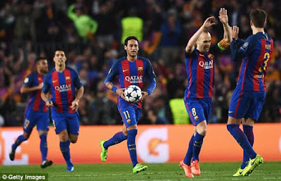 Magical!!! Barca Defeats PSG 6-1 At Home After 4-0 First Leg Humiliation 9