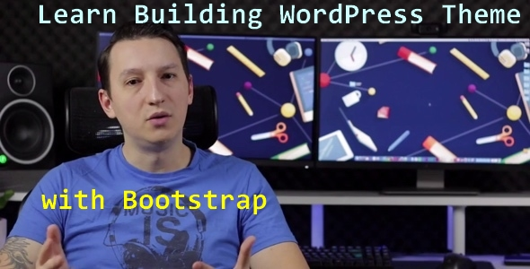 Learn Building WordPress Themes With Bootstrap