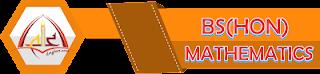 BS(Hons) Mathematics Mono