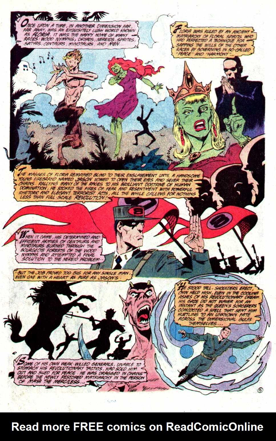 Read online Secret Origins (1986) comic -  Issue #23 - 29