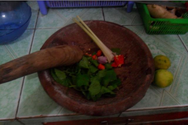 Sambai Oen Peugaga, Sambal Unik Kuliner Khas Aceh