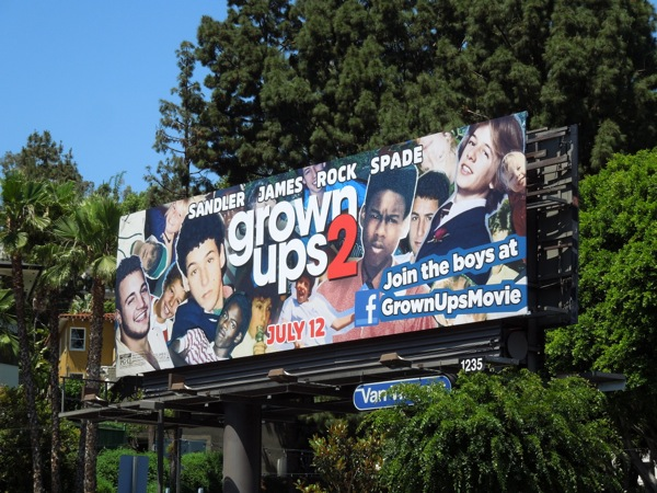 Grown Ups 2 billboard