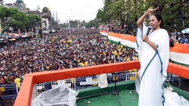 Mamata Banerjee's Mega Rally A Hit As Anti-BJP Parties Unite In