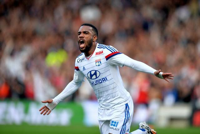 Alexandre Lacazette OL Ligue 1