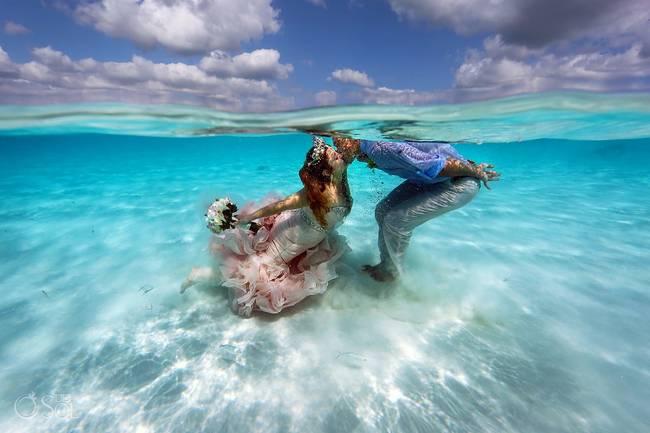 incrivel casamento realizado no mar no caribe 10 - Um casamento no meio do mar. Diferente de tudo que você já viu.