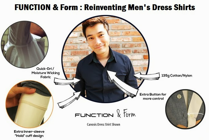 Quick drying stylish frunctional custom dress shirts online