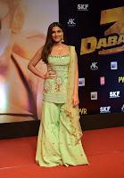 Saiee Manjrekar at at Dabangg 3 Premiere HeyAndhra.com
