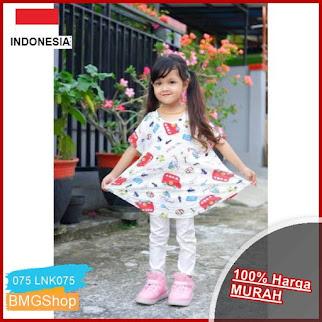 LNK075 Baju Tunik Dress Anak Murah BMGShop
