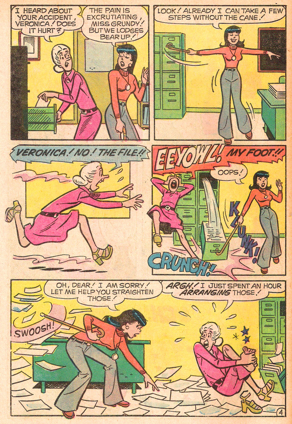 Read online Archie's Girls Betty and Veronica comic -  Issue #242 - 6