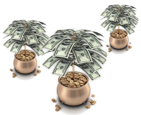 Dinero... ¿Nace en las plantas?