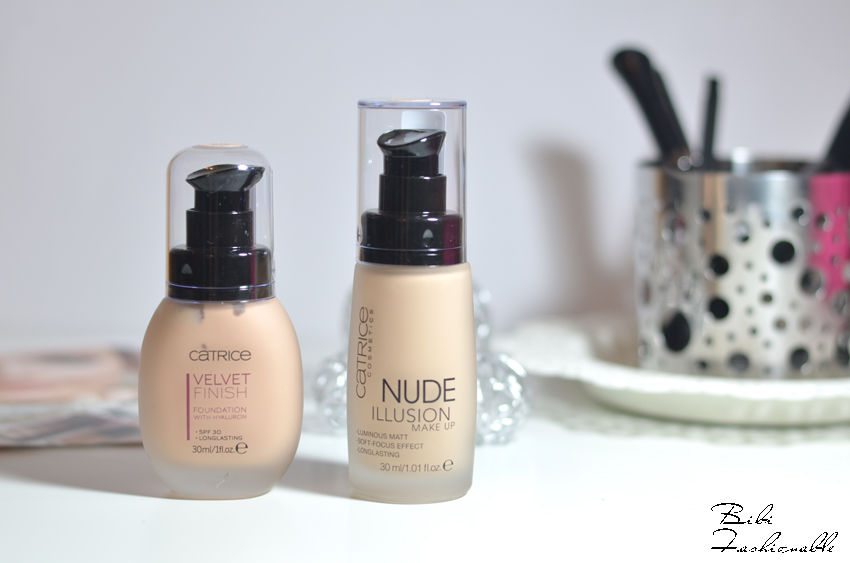 Catrice Velvet Finish Foundation With Hyaluron Nude Illusion Make Up